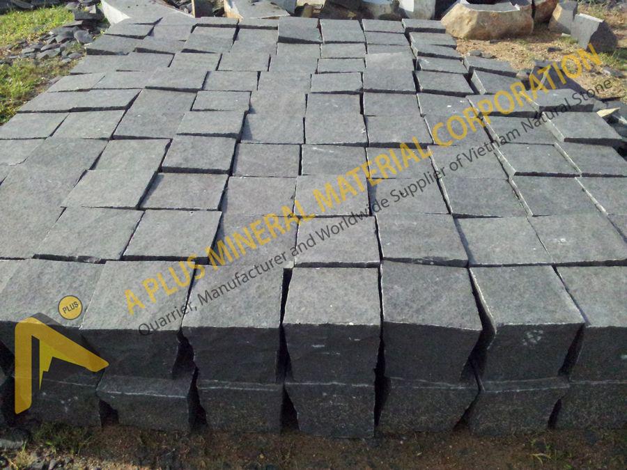 Basalt cubes/cobbles