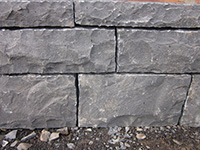 Basalt walls stone/bricks