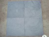 Blue stone sand blasted