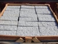 Granite cubes/cobbles