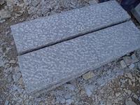 Granite kerbs/palisades