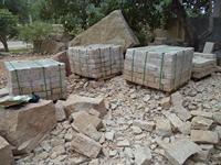 Granite walls stone/bricks